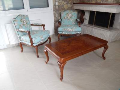 louis kenz armchairs